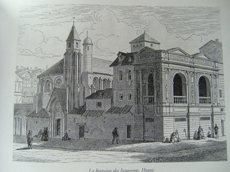 Fontaine des Innocents 1670