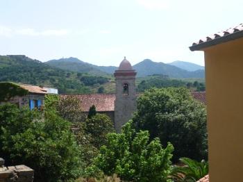 Collioure hills