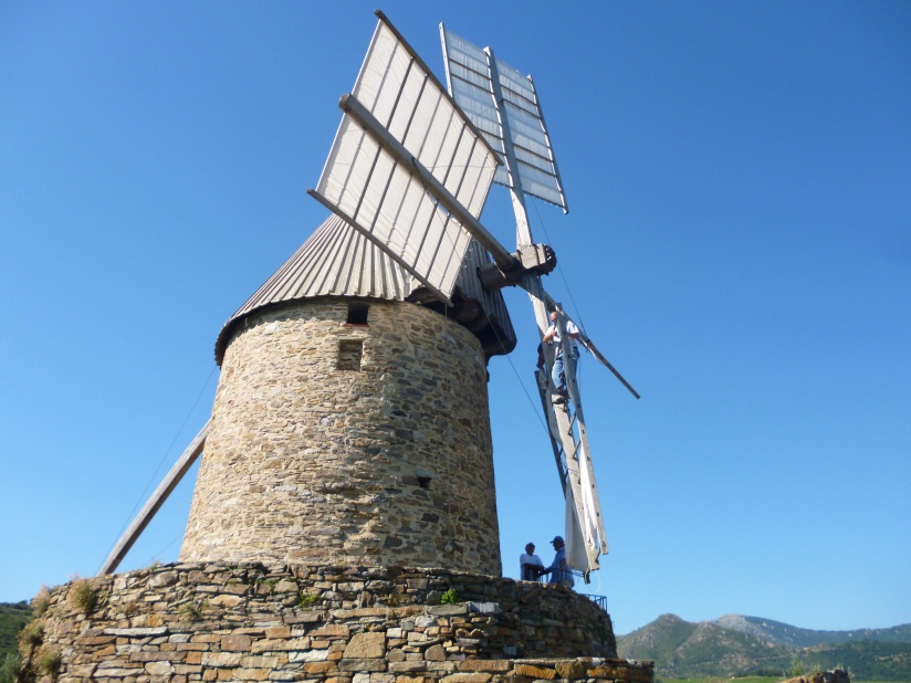 collioure windmill