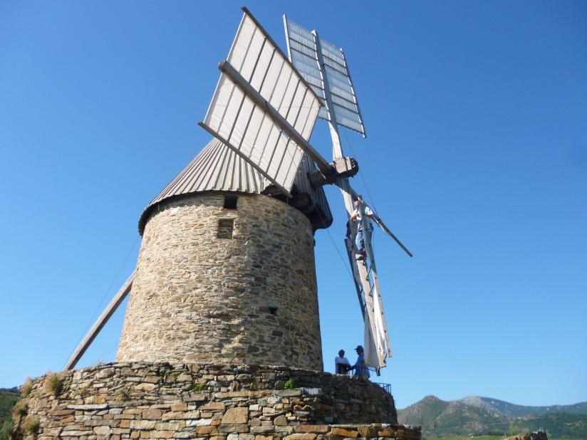 collioure windmill