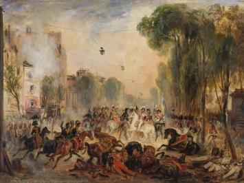 Bvd du Temple July 1835