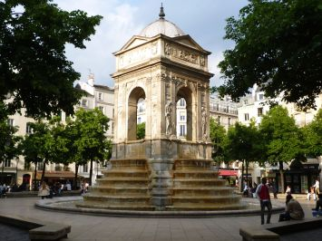 fontaine des innocents x