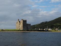 Lochranza castle - Arran - August 2015
