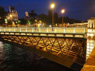 Evening on Pont d'Arcole, Paris - September 2015