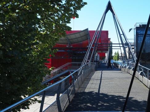 Park geometry at La Villette