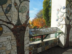 community art project mosaic Belleville