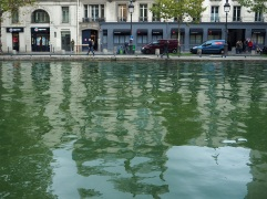 Reflections in Canal saint Martin