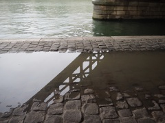 Puddles by the Seine - November 2015