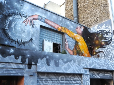 street art Bi-Continental Paris