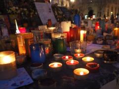 One month on in Place de la République, December 2015