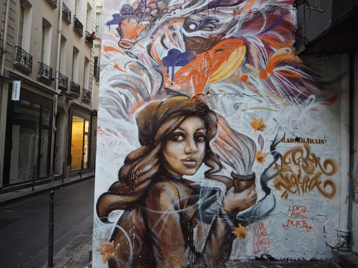 street art paris Radio Marais