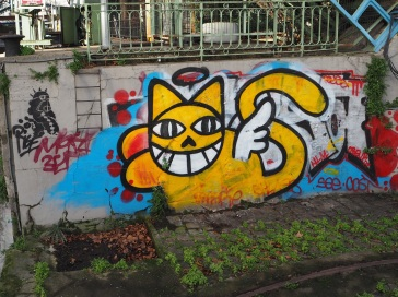 street art Paris M. Chat