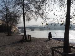 Mist on the River Seine, Paris - January 2016