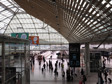 Gare de Lyon, gateway to the south of France - January 2016
