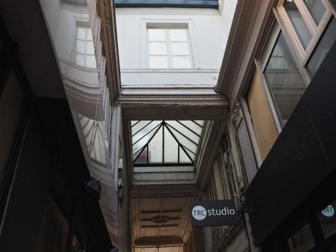 Passage du Ponceau - windows and roof lights