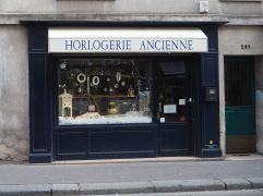 H is for Horlogerie - a traditional watch and clock shop for sales and repairs