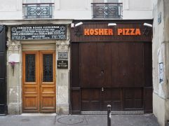 K is for Kosher Pizza - not much begins with K in French