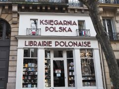 L is for Librairie - a bookshop, not a library