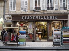 Q is for Quincaillerie - a hardware shop