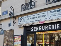 S is for Serrurerie - a locksmith's shop