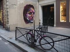 Street art in the Marais, January 2015