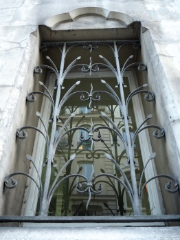 Grown in wrought iron, église Saint-Eugène, Paris 2e