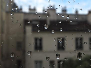 raindrops on widow