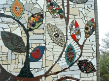 Belleville community art project mosaic