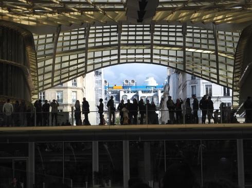 Les Halles canopy Paris