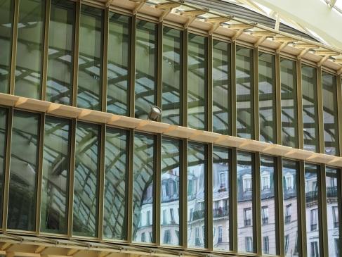 Les Halles Paris reflections