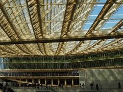 canopy Les Halles Paris roof