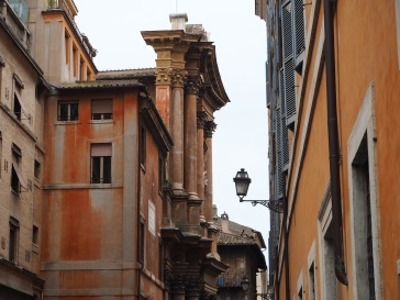 Rome street view