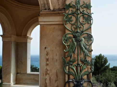 Hanbury garden La Mortola view
