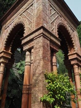 Hanbury garden La Mortola temple