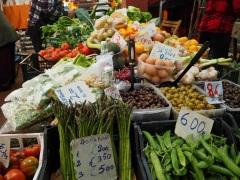Ventimiglia market stall local produce