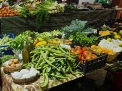 Ventimiglia market veg stall