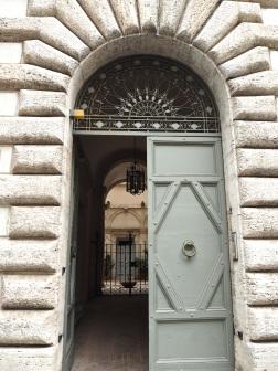 door within a door Trastevere