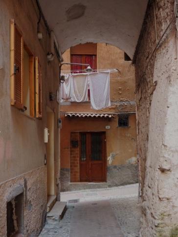 Ventimiglia medieval street