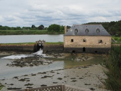Tide mill at Saint Philibert - no longer in working order.