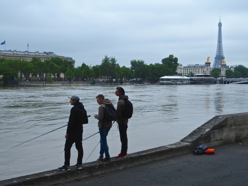 Fishing in the Seine - June 2016