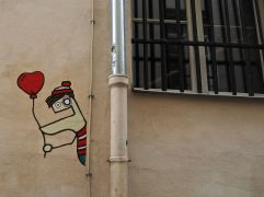 A token of affection - Paris 5 - July 2016