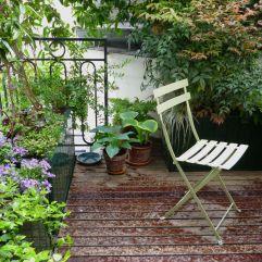 The Paris balcony garden where Beyond the Window Box started.