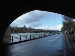 A rainy car-free Sunday on the riverside expressway