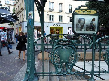 chatelet metro paris