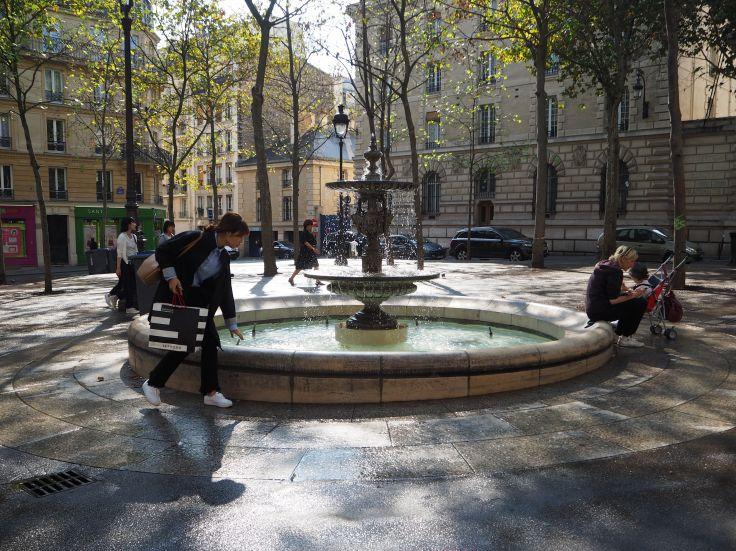 fountain place monge paris