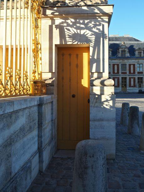 The Sun King's back door - Versailles - September 2016