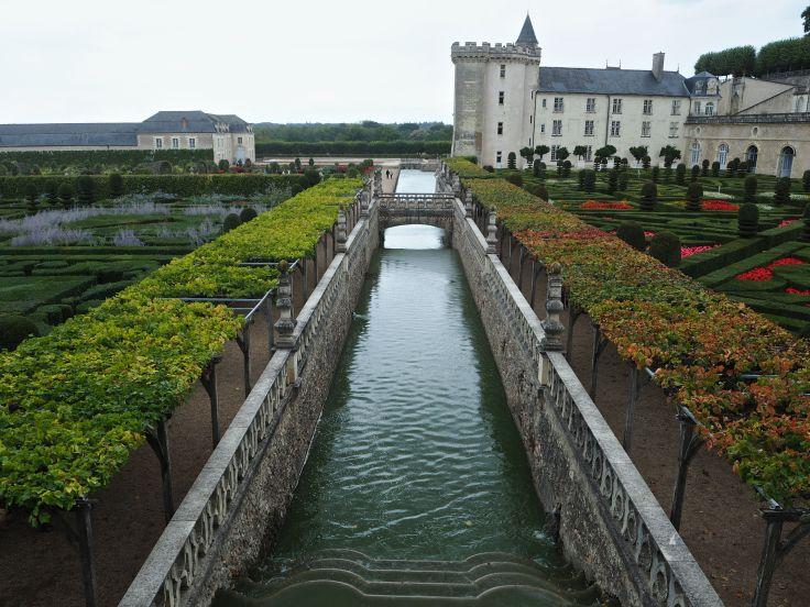 Chateau de Villandry moat
