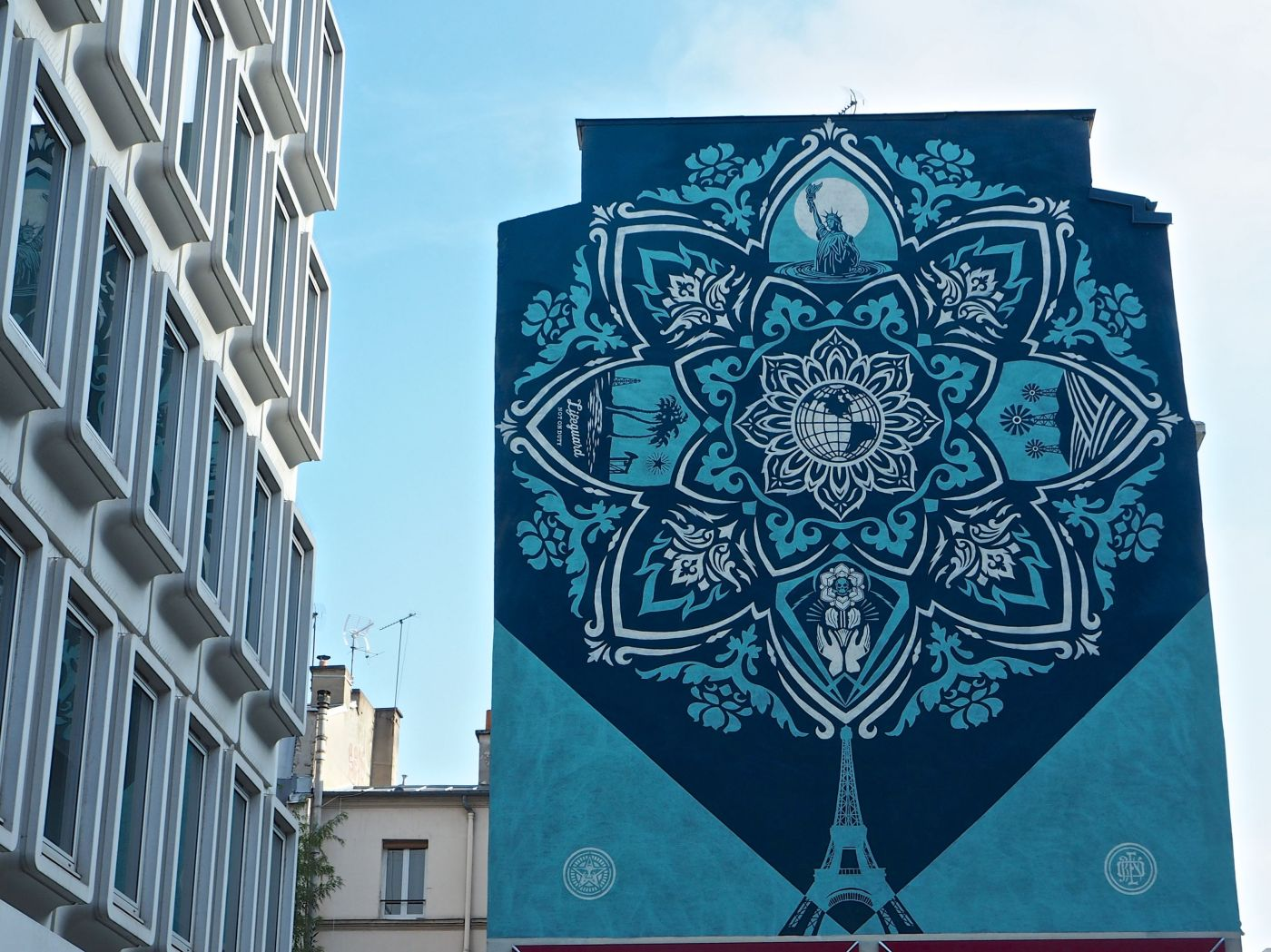 Delicate Balance by Shepard Fairey Paris 13