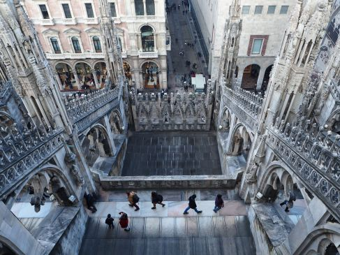 A view from Milan cathedral