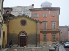 A foggy day in Piacenza